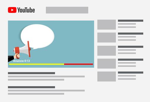 Anúncio de 20 segundos no Youtube